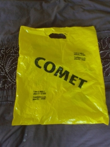 Comet Records Bag