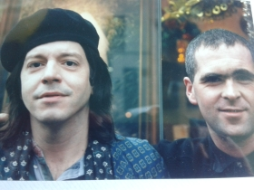 outside Shop with Grant Hart
