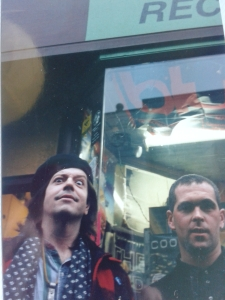 With Grant Hart - looking