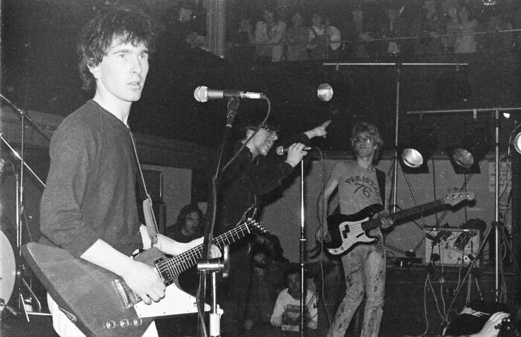 U2 - UCC Downtown Kampus Cork 1979 copyright Pat Galvin