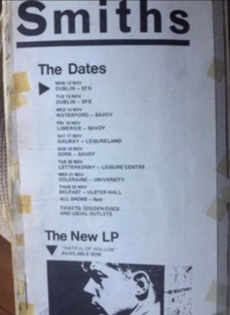 Smiths Tour Dates
