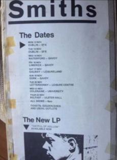 Smiths Tour Dates